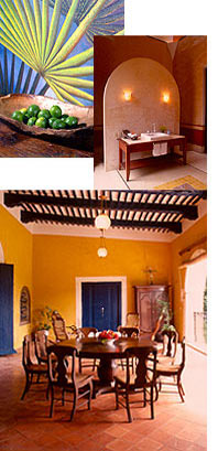 Mexican Interiors, Hacienda Architecture, Mexican Antiques and Design