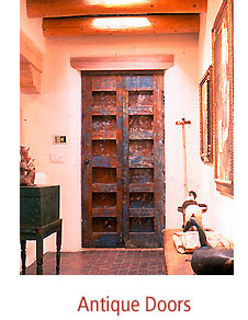 Antique Doors, Spanish Colonial Doors, Old Mexican Doors