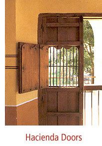 Antique Style Doors, Spanish Colonial Doors, Custom Hacienda Doors