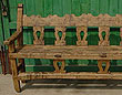 Spanish Colonial Antique Bench