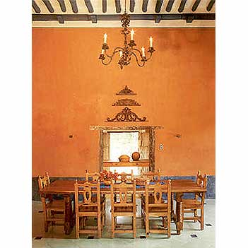 Spanish Colonial Tables and Chairs, Custom Dining Tables, Antique Wood Tables, Mexican Colonial Tables