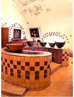 Mexican Kitchens, Mexican Design, Mexican Color and Tile